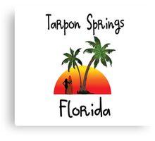 Tarpon Springs Florida. Canvas Print