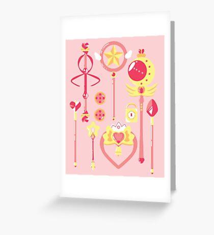 Magical Arsenal Greeting Card