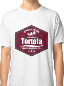 Paradise Beach Tortola Classic T-Shirt