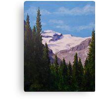 Peyto Glacier Canvas Print