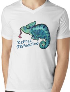 Reptile Dysfunction Mens V-Neck T-Shirt