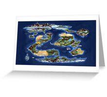 Ramathian World Map Greeting Card