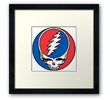 Redskins Grateful Dead Framed Print