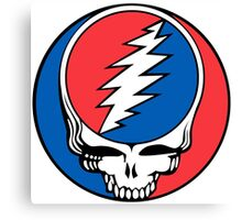 Redskins Grateful Dead Canvas Print