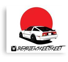 @bearjewskeetskeet z31 Sticker Canvas Print