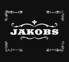 Jakobs logo (White) Borderlands by weeweeface