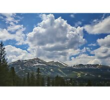 Breckenridge Ski Slopes Photographic Print