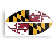 Maryland Football Metal Print