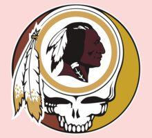 Redskins Grateful Dead One Piece - Short Sleeve