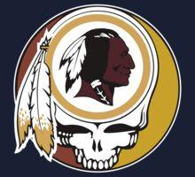 Redskins Grateful Dead Kids Tee