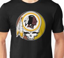 Redskins Grateful Dead Unisex T-Shirt