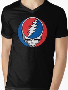 Redskins Grateful Dead Mens V-Neck T-Shirt