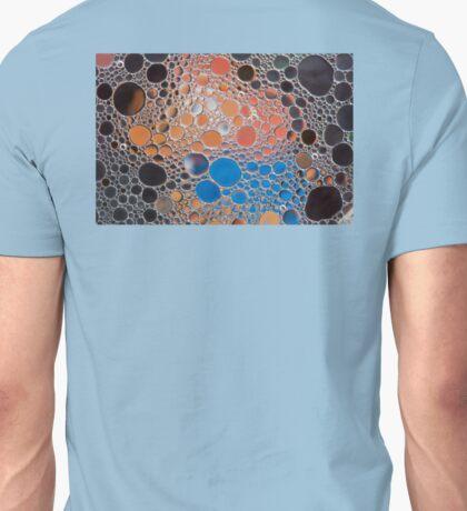 Blue & Orange bubbles Unisex T-Shirt