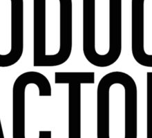 WRITER PRODUCER ACTOR DIRECTOR Sticker