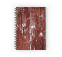 Old Paint In Rusty Red Spiral Notebook