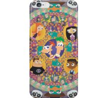Phineas and Ferb Mandala iPhone Case/Skin