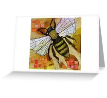 Flight of the Bumblebee V Greeting Card