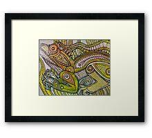 Iguana Go Home Framed Print
