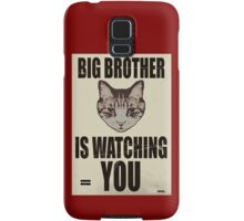 Orwellian Cat is Watching You Samsung Galaxy Case/Skin