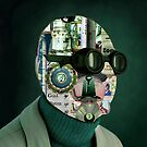 Man with Blank Face. by Andy Nawroski