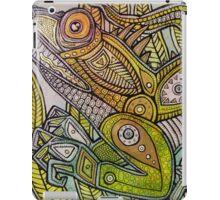 Iguana Go Home iPad Case/Skin