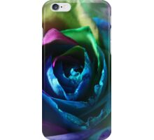 A Rainbow Rose iPhone Case/Skin