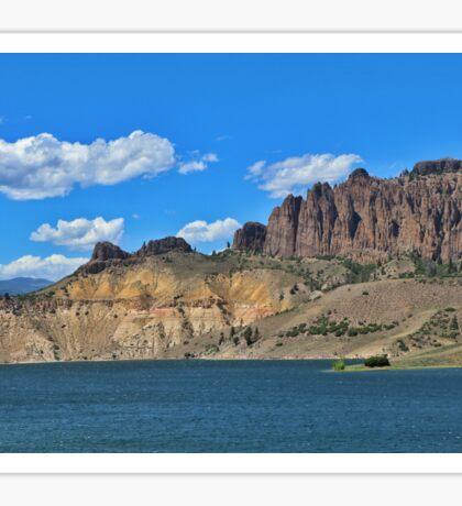 Blue Mesa Reservoir Sticker