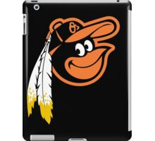Redskins Orioles iPad Case/Skin