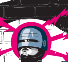 Robocop In Love Sticker
