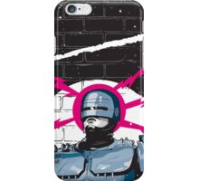 Robocop In Love iPhone Case/Skin