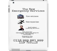 The New Emergency Services iPad Case/Skin