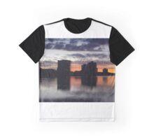 orange sunset Graphic T-Shirt