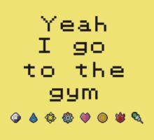 Pokemon gym- Kanto One Piece - Short Sleeve