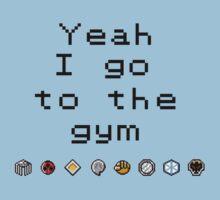 Pokemon gym- Johto One Piece - Short Sleeve