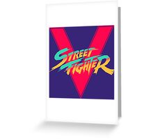 Super Street Fighter Five, 2: Turbo Impact Greeting Card