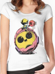 Cute Wolverine baby Women's Fitted Scoop T-Shirt