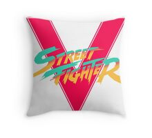 Super Street Fighter Five, 2: Turbo Impact Throw Pillow