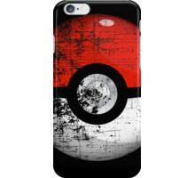 Destroyed Pokemon Go Team Red Pokeball iPhone Case/Skin