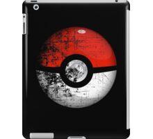 Destroyed Pokemon Go Team Red Pokeball iPad Case/Skin
