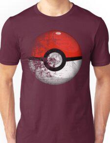 Destroyed Pokemon Go Team Red Pokeball Unisex T-Shirt