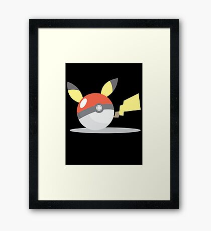 PikaBall Framed Print