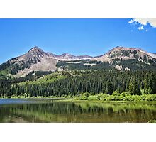 Lost Lake View Photographic Print