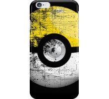 Destroyed Pokemon Go Team Yellow Pokeball iPhone Case/Skin