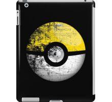 Destroyed Pokemon Go Team Yellow Pokeball iPad Case/Skin
