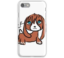 violet the dashshund iPhone Case/Skin