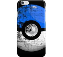 Destroyed Pokemon Go Team Blue Pokeball iPhone Case/Skin