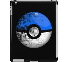 Destroyed Pokemon Go Team Blue Pokeball iPad Case/Skin