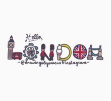 Hello London by Drawingsbymaci
