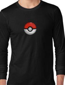 Pokemon Go Team Red Pokeball Long Sleeve T-Shirt