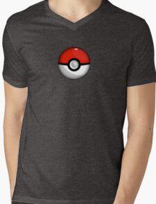 Pokemon Go Team Red Pokeball Mens V-Neck T-Shirt